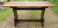 Small Oak Refectory Dining Table